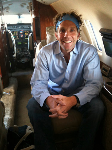 Selling Private Jet Service With Chattering Teeth
