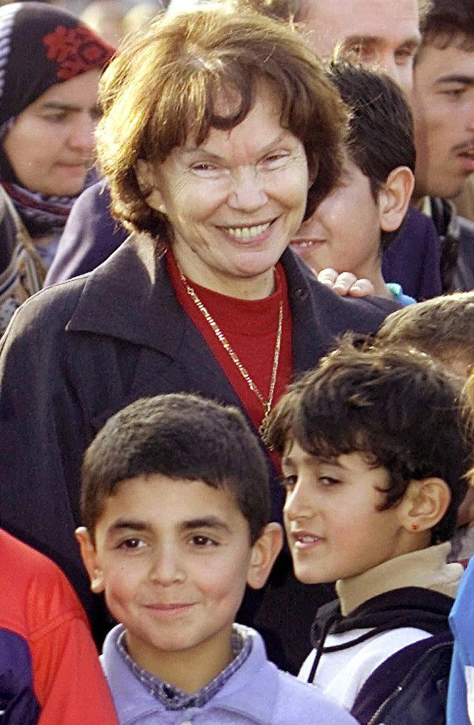 Danielle Mitterrand Et Son Amant : danielle, mitterrand, amant, Danielle, Mitterrand,, Ex-French, President,, Times