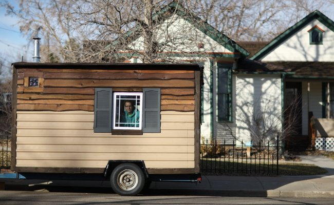 At 84 Square Feet Home Takes Tiny House Movement Tinier