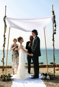 More Couples Are Using a Wedding Canopy, No Matter Their ...