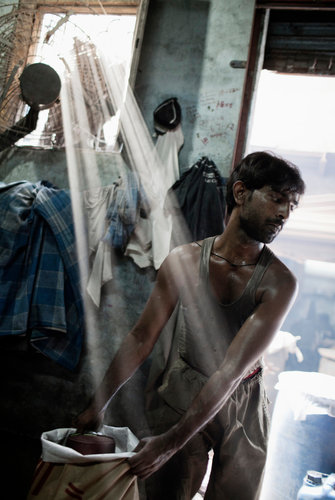 In Indian Slum Misery Work Politics and Hope  The New