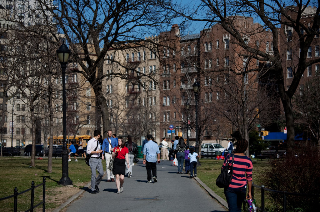 Grand Concourse Neighborhood in the South Bronx Gentrifies