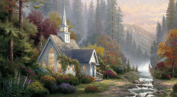 American Paint And Wallpaper Fall River Thomas Kinkade Painter For The Masses Dies At 54 The