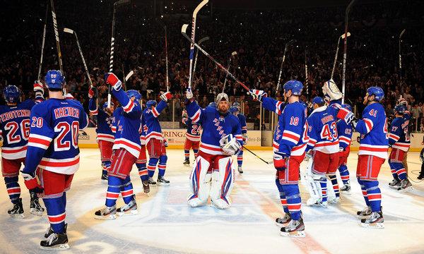 2012 Stanley Cup Rangers Edge Senators In Game 7  The