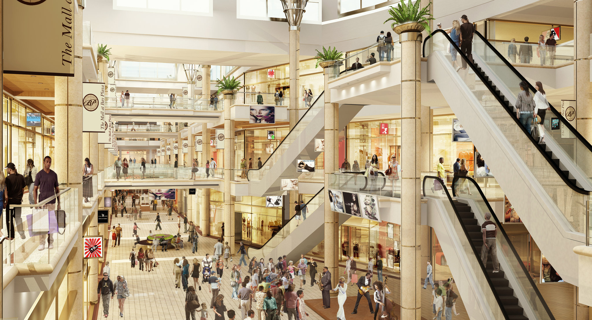 New York Developers To Build Suburbanstyle Mall In The