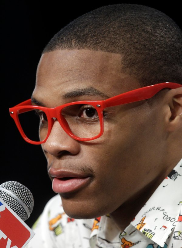 NBA Finals Russell Westbrooks Nerd Glasses The New