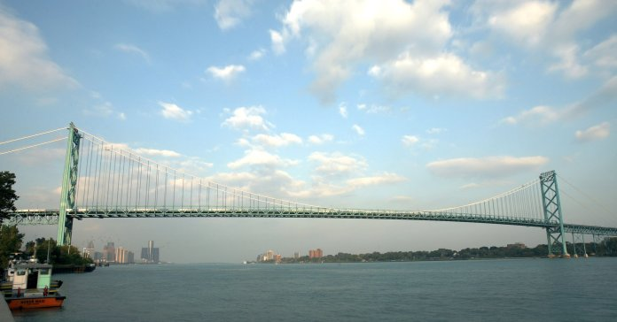 Detroit To Canada Bridge To Be Unveiled The New York Times