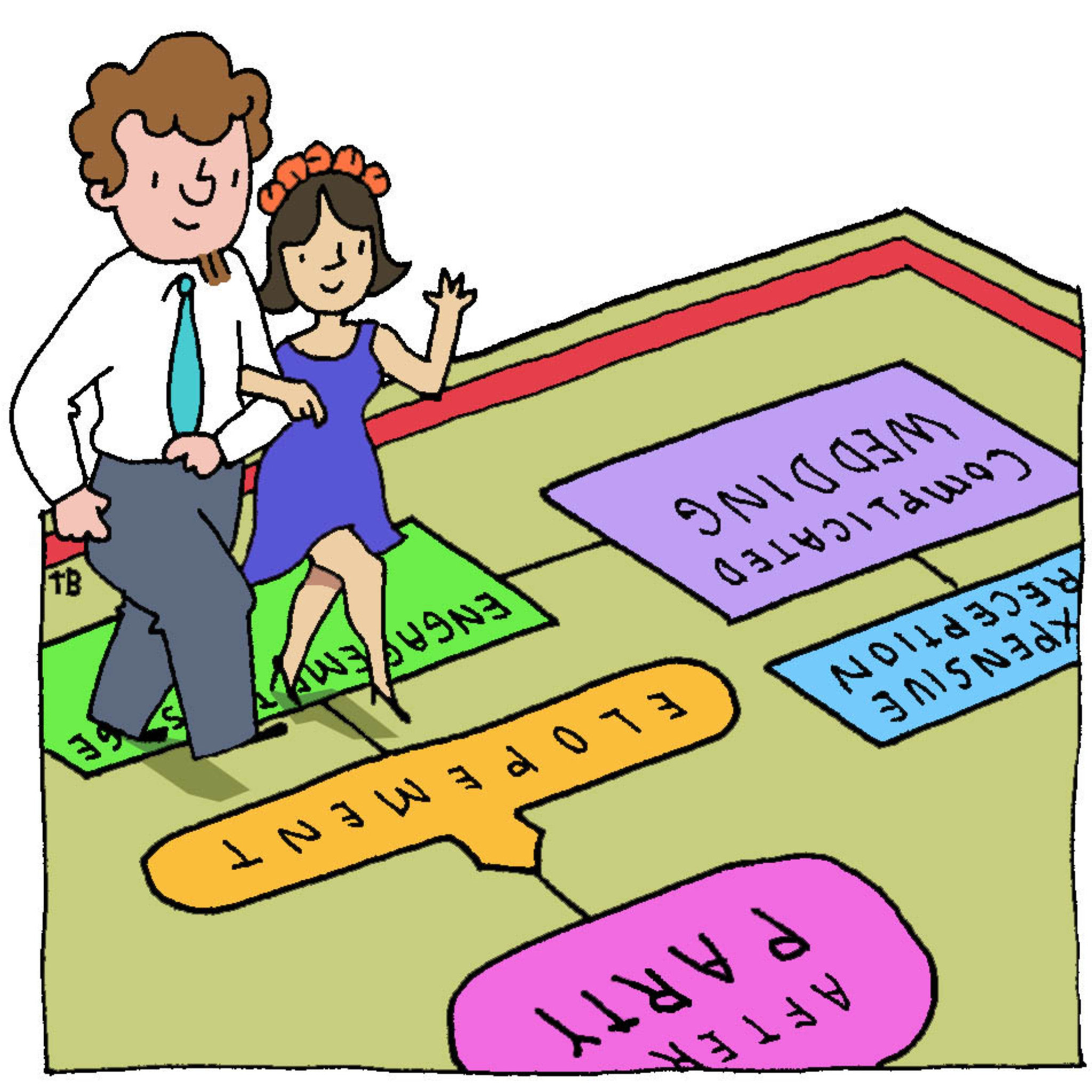 couples who elope enjoy