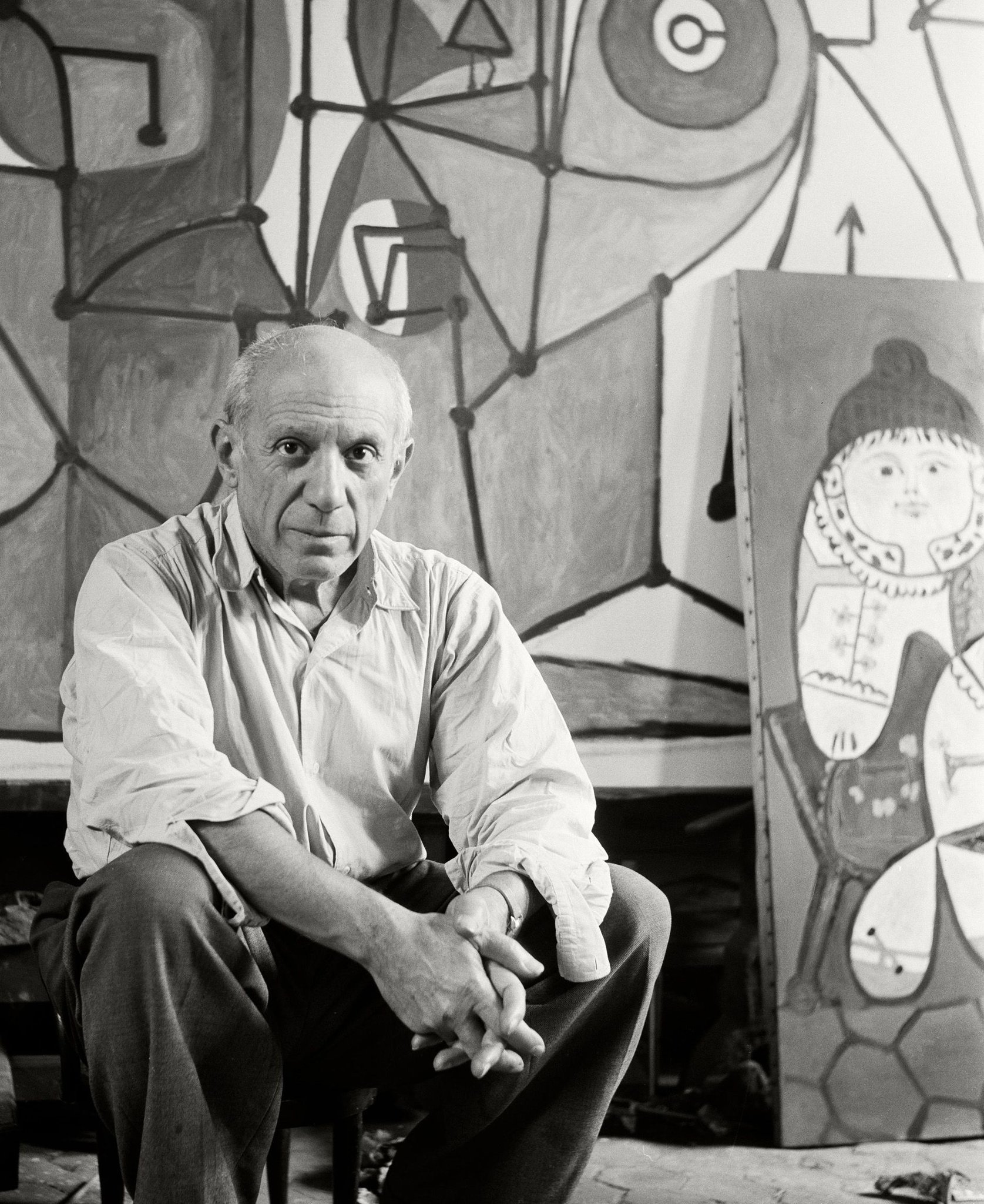 Turning Points In Picasso S Life Are Portrayed In Two