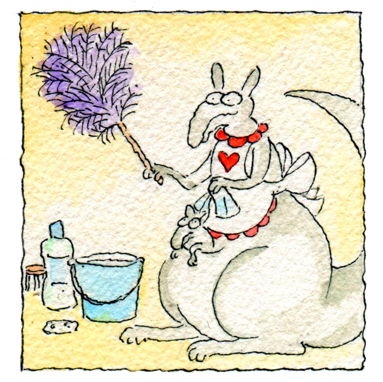 How Do Female Kangaroos Keep Their Pouches Clean