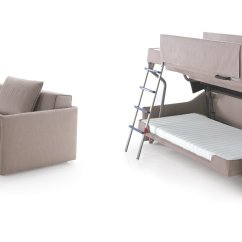 Chair Converts To Bed Purple Dining Chairs Canada A Bunk Born Of Couch The New York Times
