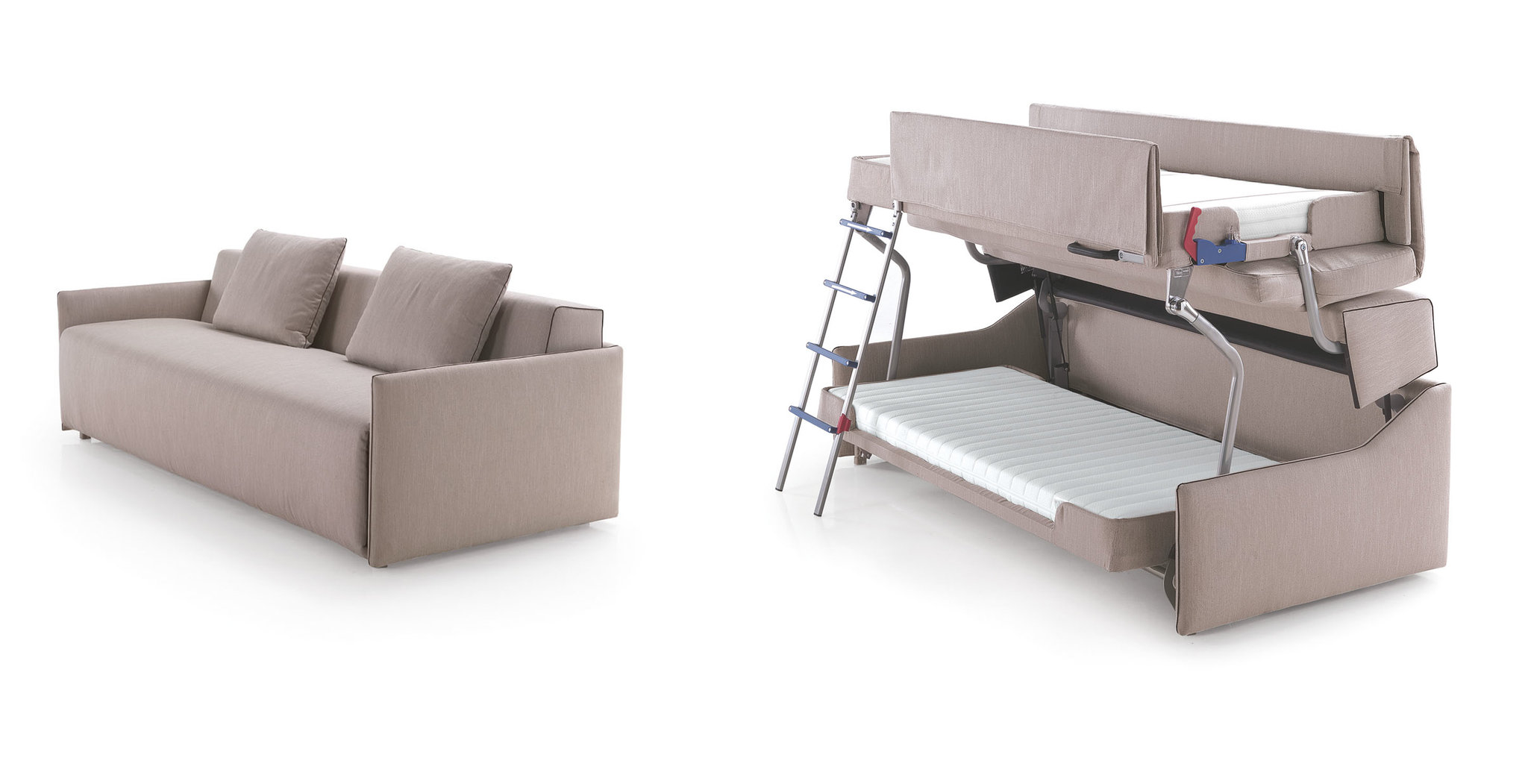 Chair That Turns Into Bed A Bunk Bed Born Of A Couch The New York Times
