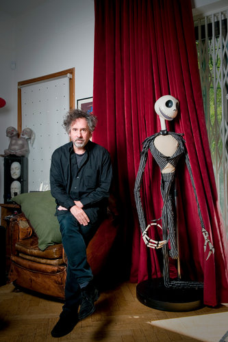Tim Burton on His Movies His Life and His Tombstone  The