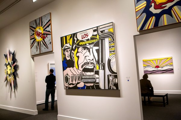 Roy Lichtenstein Retrospective National Of Art - York Times