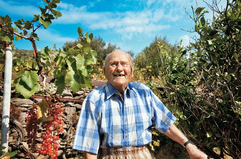 Image result for Stamatis Moraitis, a Greek war veteran from Ikaria, Greece
