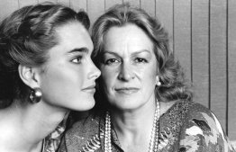Brooke Shields, left, with her mother, Teri Shields, in 1981.