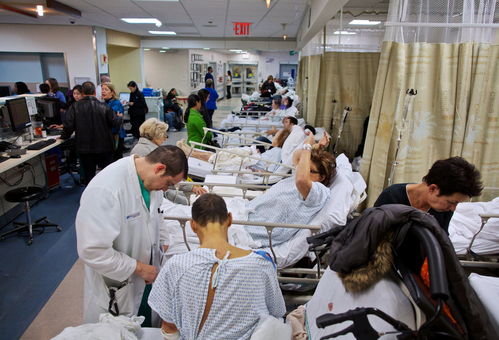 With Some Hospitals Closed After Hurricane Sandy Others Pick Up Slack  The New York Times