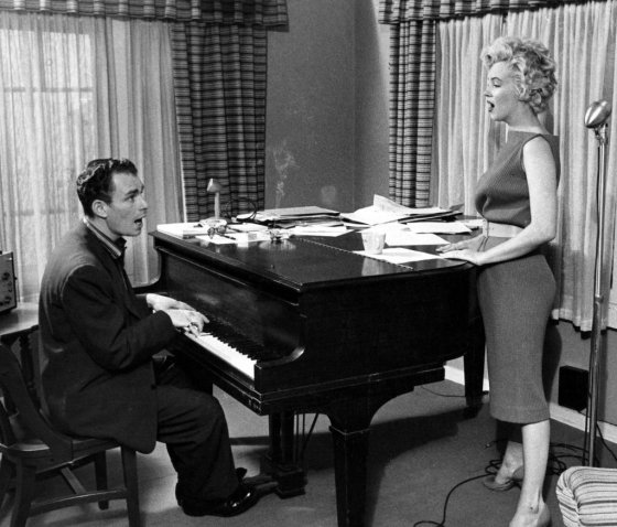Image result for marilyn monroe and hal schaefer