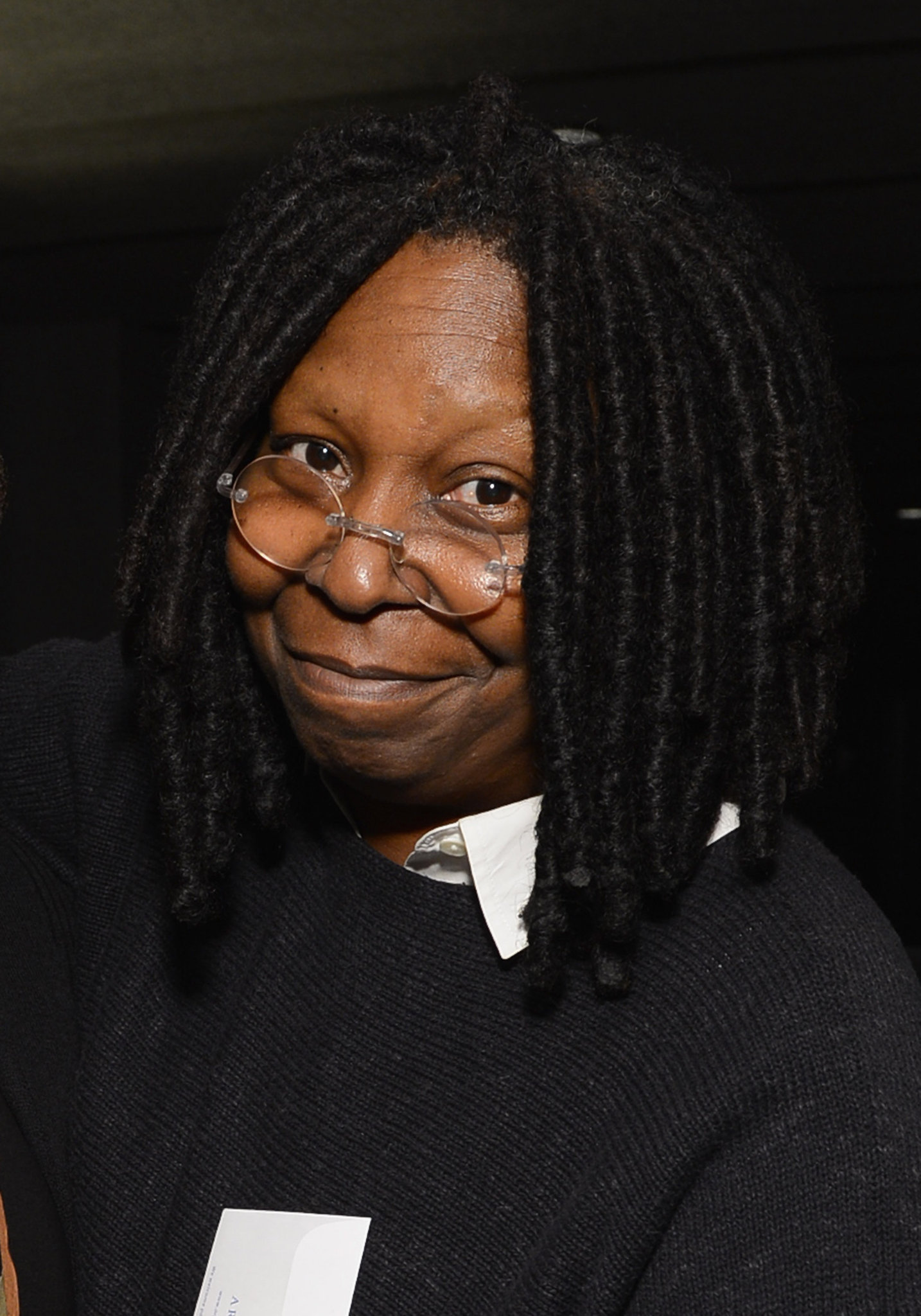 Whoopi Goldberg Plays But Not Too Much Working At Cuomo Event