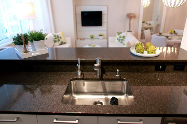 kitchen disposal white cabinets home depot besides the gym and great views don t forget to mention garbage a at rental building in manhattan credityana paskova for new york times image