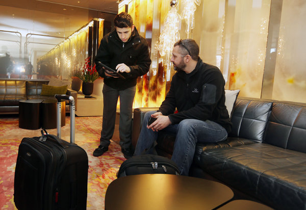 Speedy CheckIn Lets Hotel Guests Bypass Front Desk  The