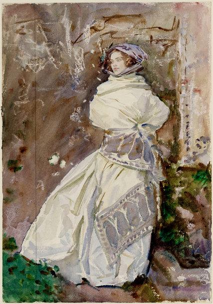 John Singer Sargent Watercolors At Brooklyn Museum The