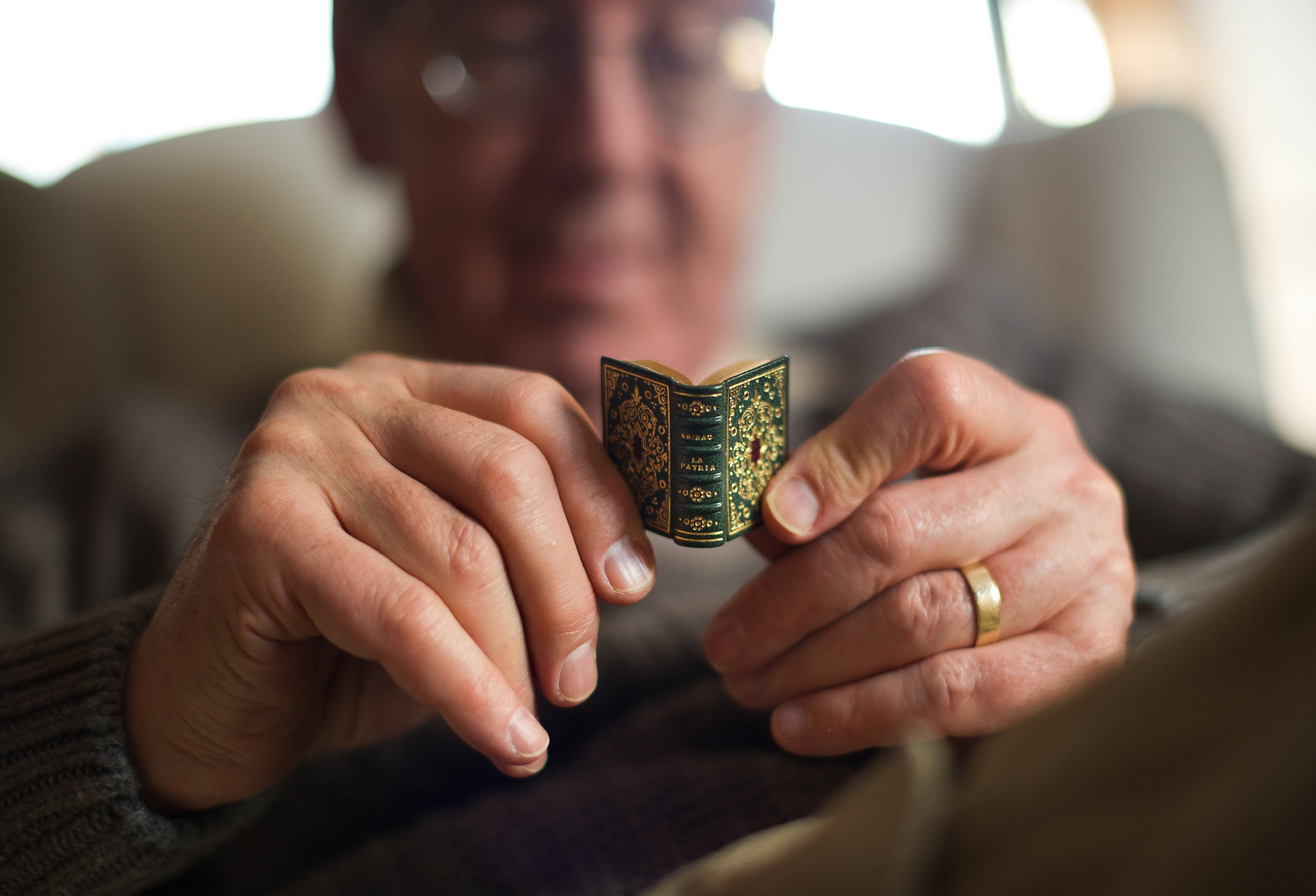 Library of Miniature Books Has Its Own Story  The New
