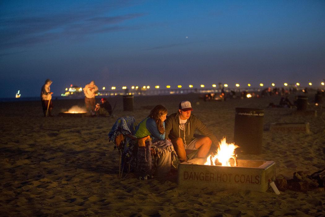 Pollution Concerns Could Douse California Beach Fires
