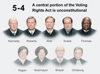 Supreme Court Invalidates Key Part of Voting Rights Act