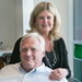 Hans Mattsson and his wife, Birgitta, in New York last month. Mr. Mattsson used to oversee the Mormon Church in Europe.