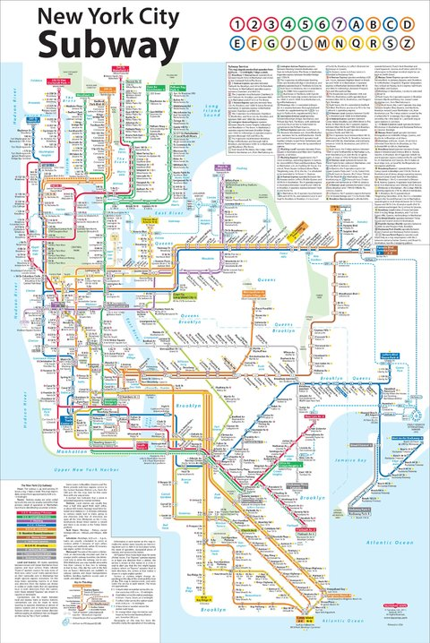 new york city subway diagram how a neti pot works redesign of the map from one its designers system designed by john tauranac who
