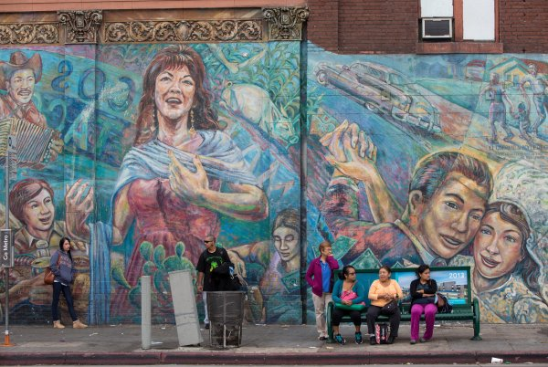 Los Angeles Mexican-American Mural Artists