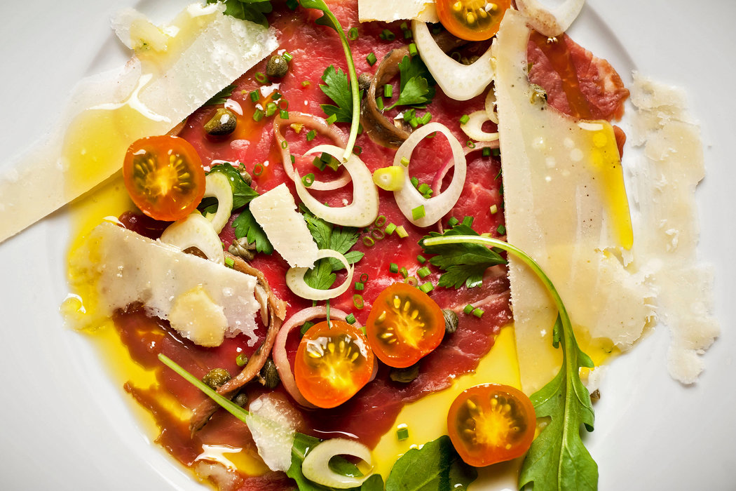 Carpaccio at Its Beefy Best  The New York Times