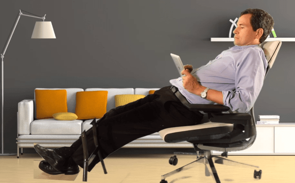 Chair Pitched as Answer to New Ways We Sit on Job  The