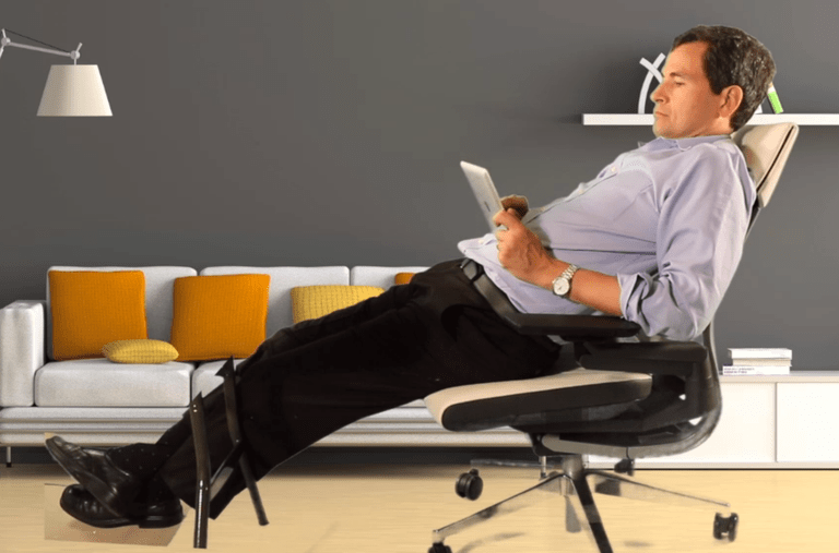 steelcase gesture chair cheap spandex covers pitched as answer to new ways we sit on job - the york times