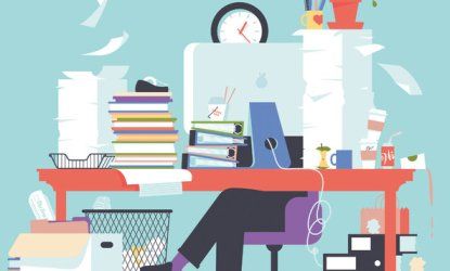 What a Messy Desk Says About You The New York Times