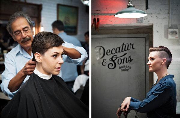 women hairstyles barbershop