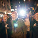 A protest singer for all times: a 92-year-old Pete Seeger joins the Occupy Wall Street movement in a march in 2011.