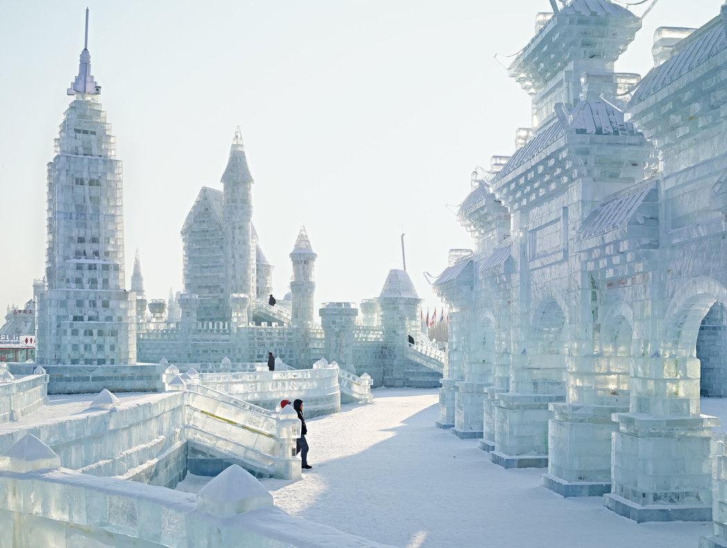 繽紛剔透的哈爾濱冰雪大世界 - 紐約時報中文網