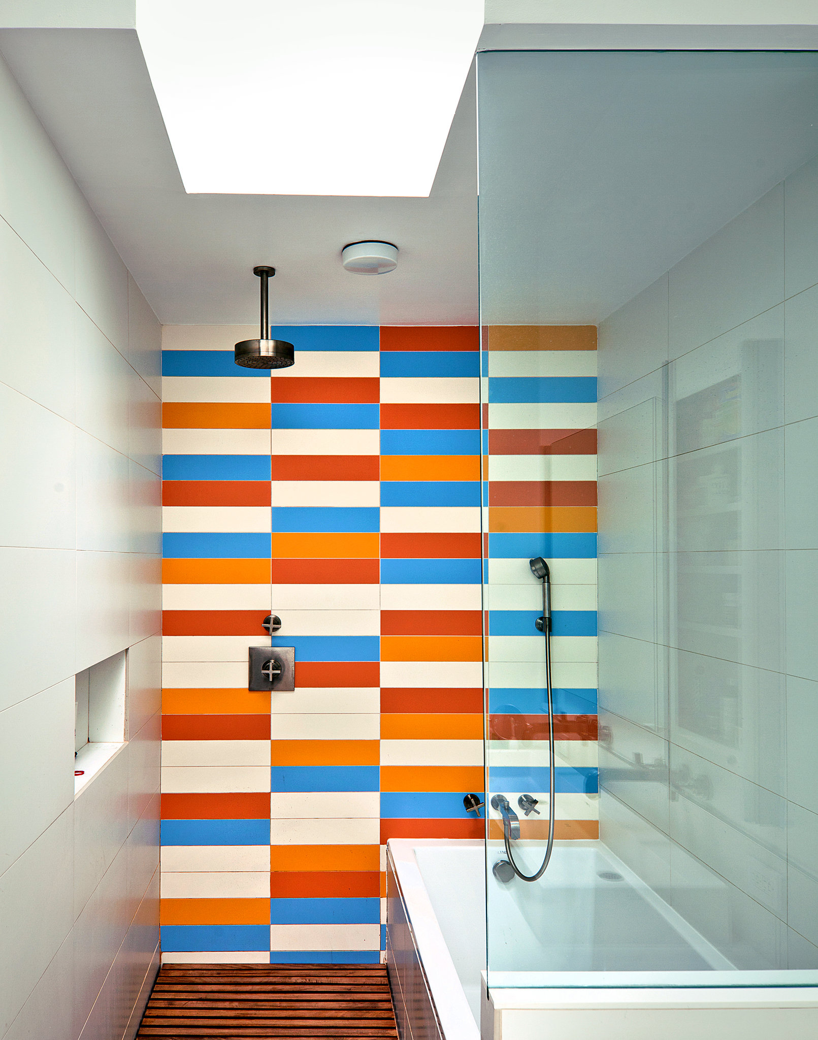 better shower curtain or glass door