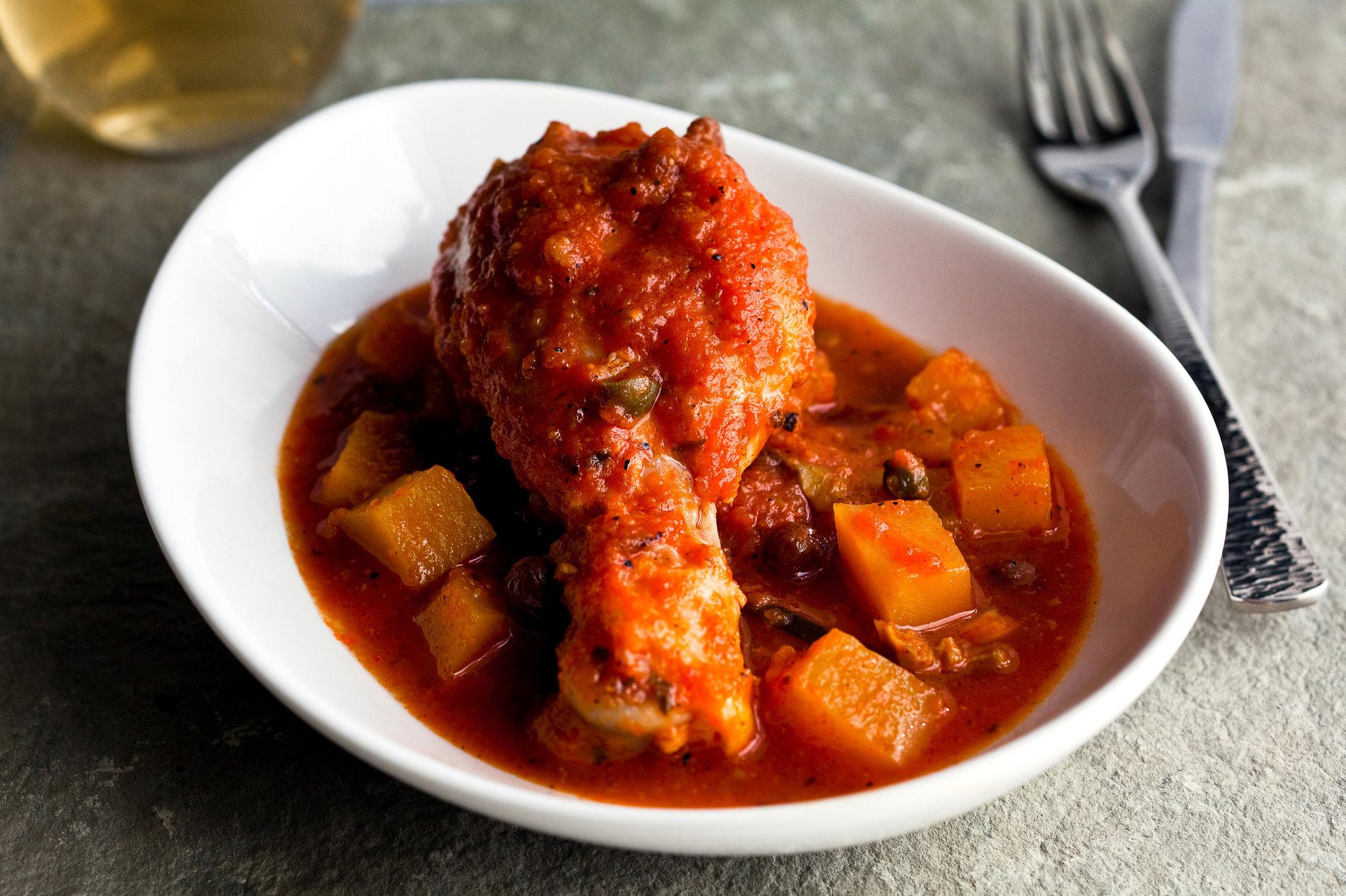 Veracruzana Chicken Stew with Winter Squash Recipe  NYT