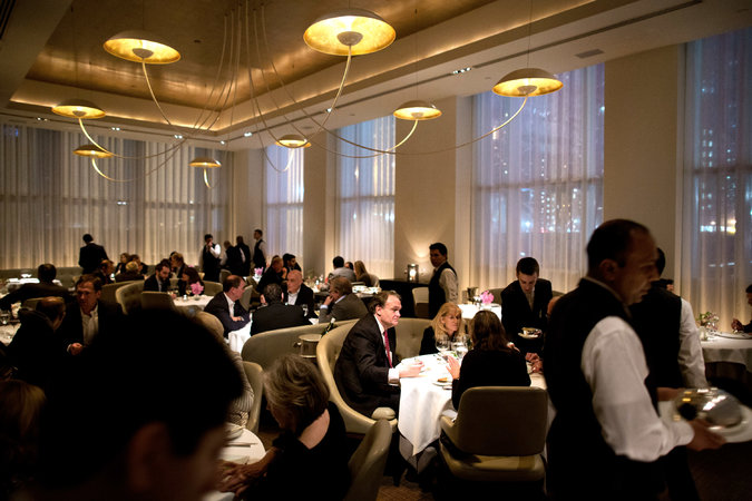 Restaurant Review JeanGeorges on the Upper West Side