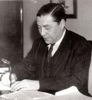 Josep Pla in 1942. Credit Fundació Josep Pla