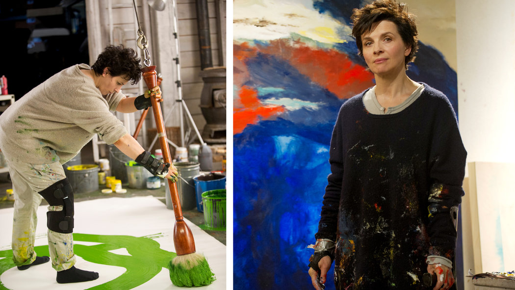 Juliette Binoche Brings Own Art to Words and Pictures