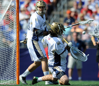 Notre Dames Goalie Emerges as Possible Answer to Dukes