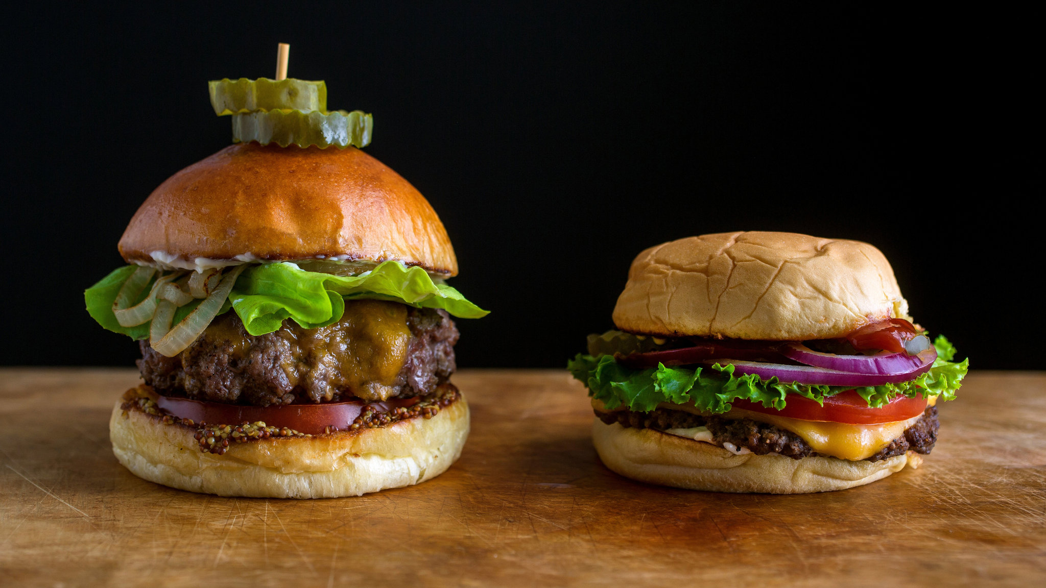Hamburgers Diner Style Recipe