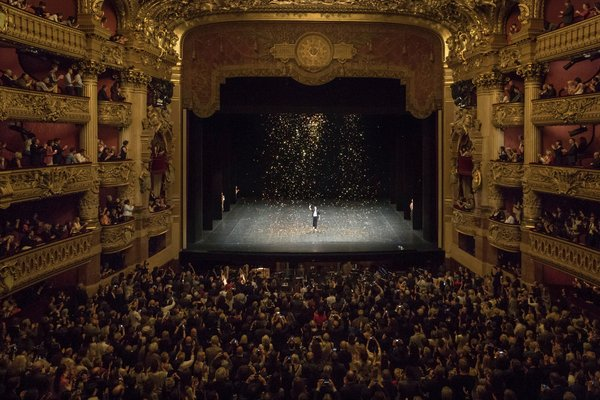 Nicolas Le Riche Gives Last Performance At Palais Garnier