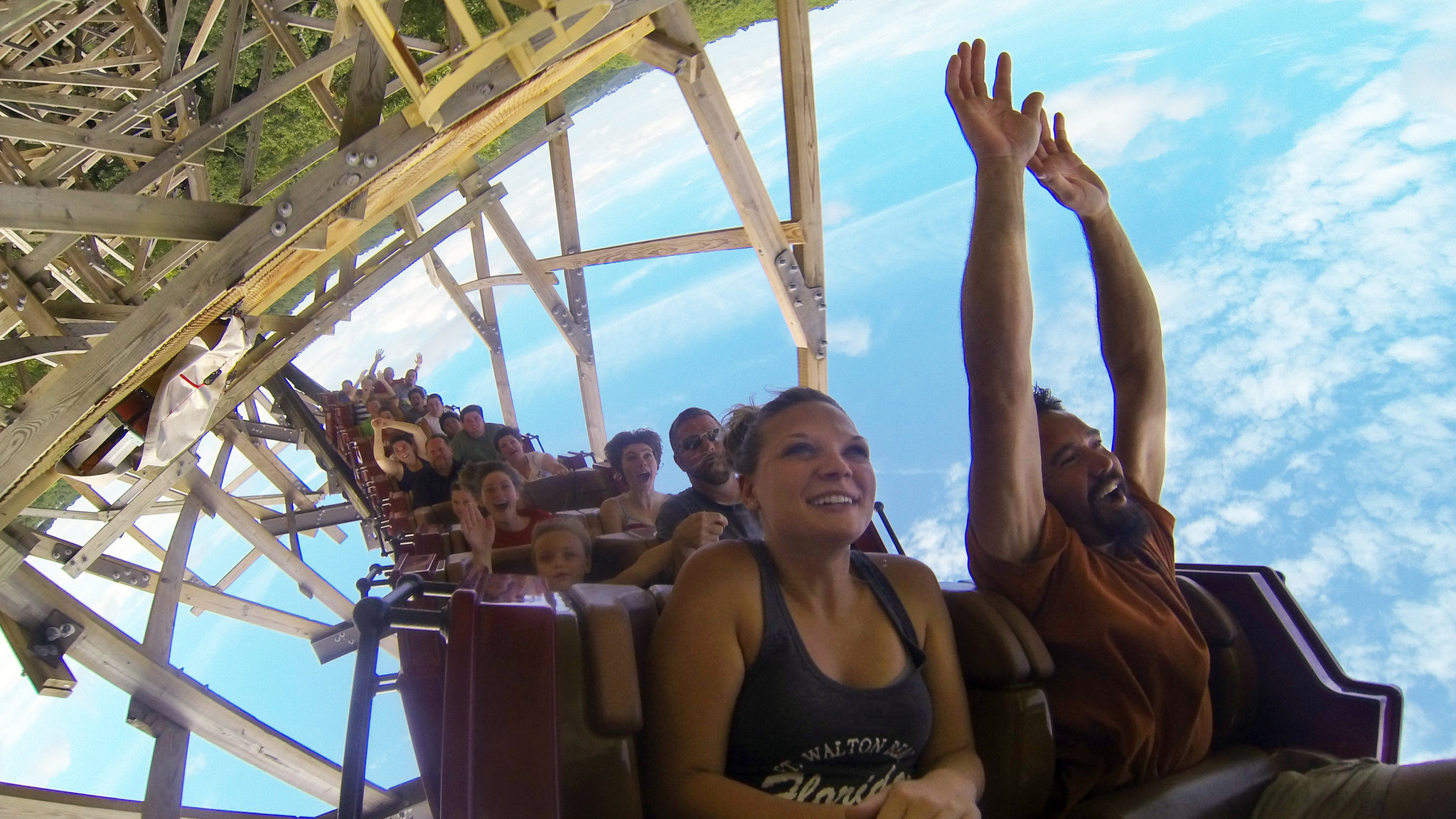 New Twists For Wooden Roller Coasters The New York Times
