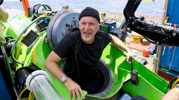 James Cameron Documents His Dive to the Mariana Trench - The New York Times