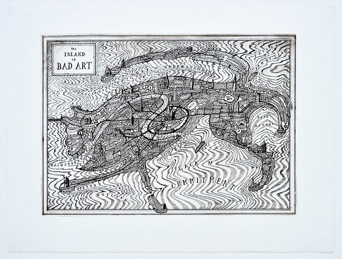 bad art map